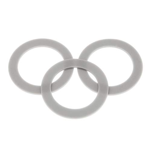 Blender O-Ring Gasket Seal Rubber Sealing O-Gasket Rings, Replacement for Hamilton Beach (Pack of 3)