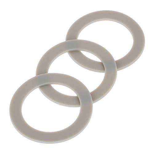 3Pcs Blender Rubber Gasket Sealing O-ring CUCB-456-3, Replacement for Cuisinart Blenders # BFP703 BFP-703 BFP703B BFP-703CH SPB-7 SPB7 SPB-7BK CB8 CB9 BFP-703