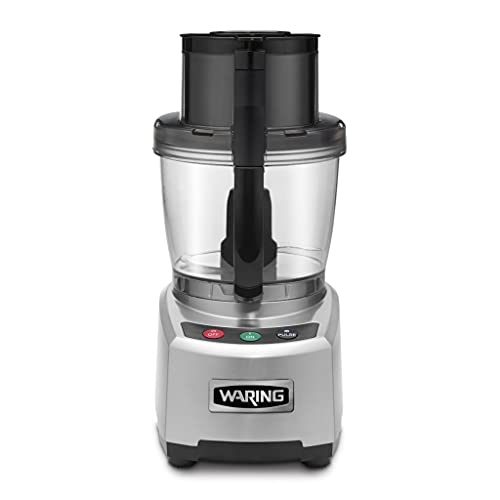 Waring Commercial WFP16S Sealed Batch Bowl Food Processor with LiquiLock Seal System, 4-Quart