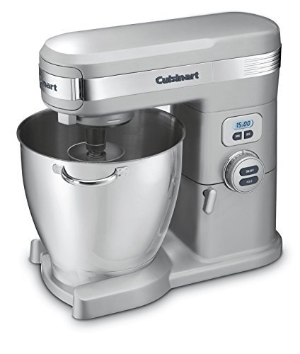 Cuisinart SM-70BC 7-Quart 12-Speed Stand Mixer, Brushed Chrome (Renewed)