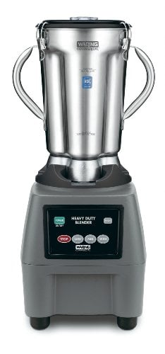 WARING Commercial CB15 Food Blender with Electronic Keypad, 1-Gallon, Black