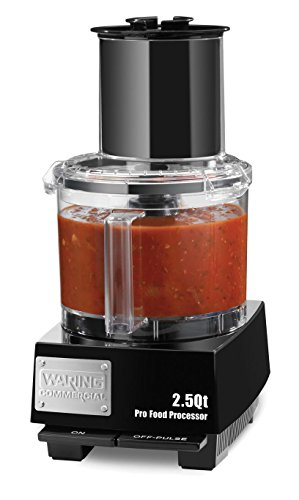 Waring WFP11S 2.5 Quart Food Processor with Discs