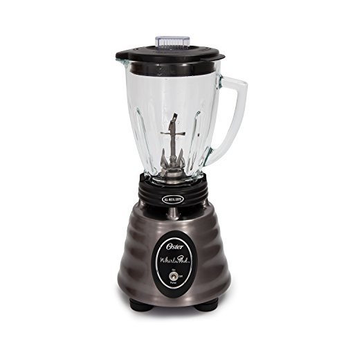 Oster Collection Heritage Blend 400, Stainless Steel, Black, 6 Cup