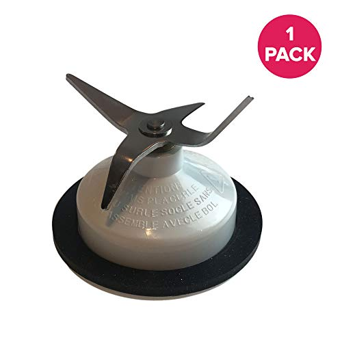 Think Crucial Replacement Blender Parts - Compatible with Kitchenaid Blender Blade & Gasket Seal Part # KSBGCB - Fits Most Kitchenaid Blenders Model - Bulk (1 Pack)