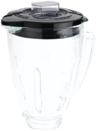 Oster BLSTAJ-CB Blender 6-Cup Glass Jar - Black Lid
