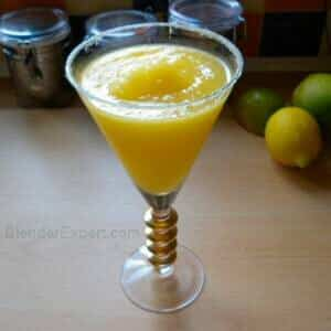 Rum and Mango Tropical Crush