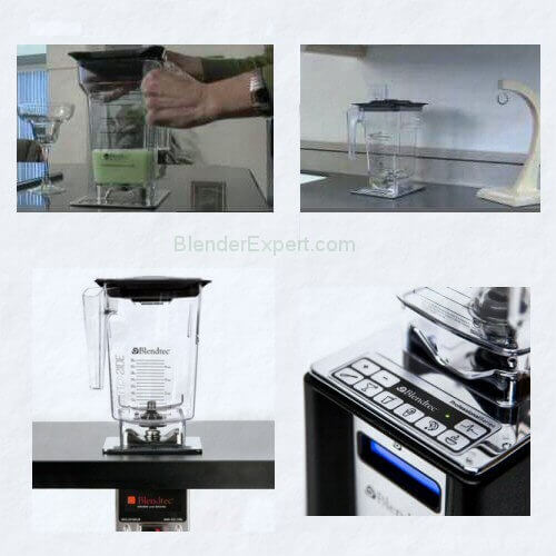 Built in Blendtec Connoisseur Blender