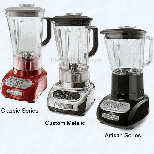 The Three Kitchenaid Blenders