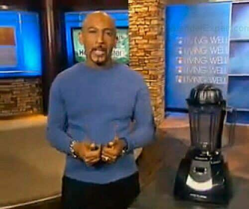 Montel with his blender