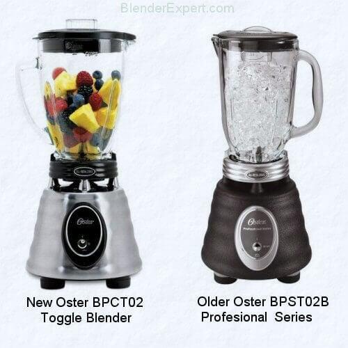 The Oster BPCT02 Blender vs The Older Oster BPST02 Professional Series