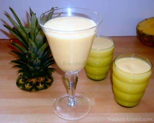 Cool and tangy tropical smoothie
