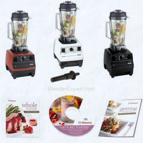 Vitamix blender color selection
