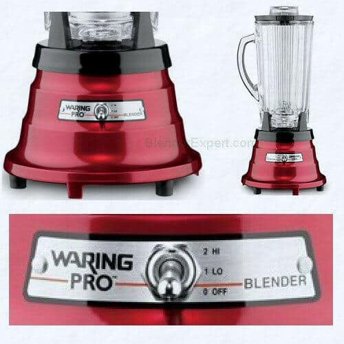 Waring Pro Blender PB225 Metallic Red