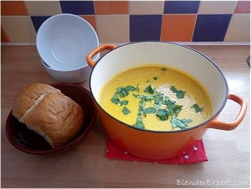 Sweet Potato Soup In A Blender
