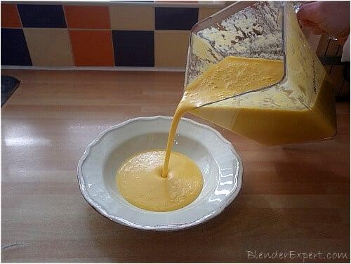 Making creamy sweet potato soup3