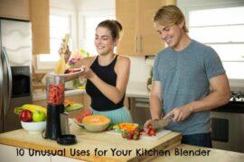 kitchen blender use