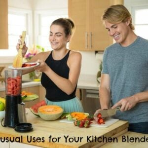 kitchen blender use