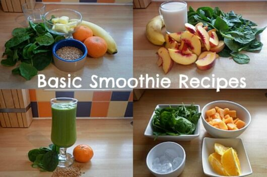 Here S What To Put In A Basic Smoothie Recipe